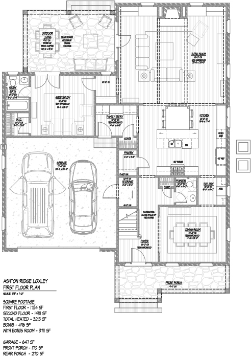 Floor plans ashton ridge for Ron lee homes floor plans